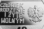 40th Anniversary of the 'Solidarity' Trade Union, 10 zł, obverse detail