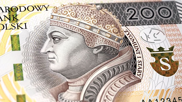 Modernised banknotes – 200 zł